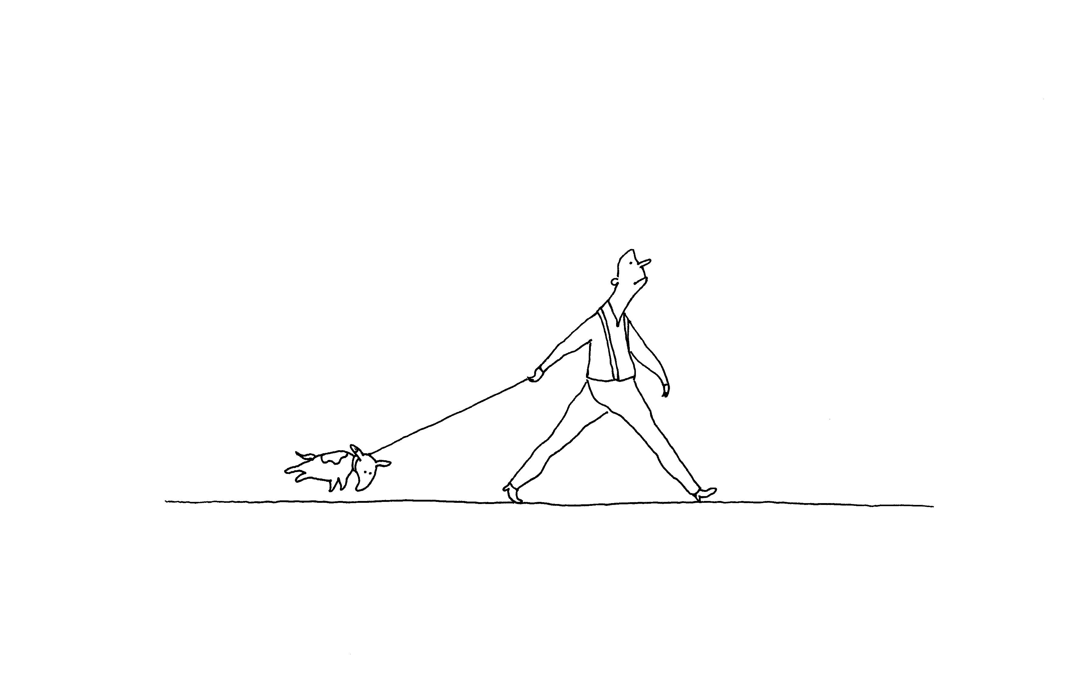 La marche en laisse comme miroir de la relation entre un for Miroir psychologie